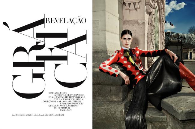 Thanassis Krikis - Harper's Bazaar Brazil