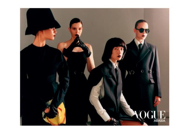 Christos Vourlis - Vogue Arabia x Prada