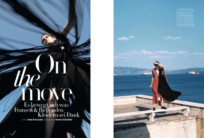 Christos Vourlis - Harper's Bazaar Germany