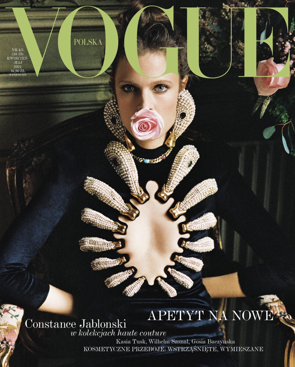Christos Vourlis for Vogue Poland