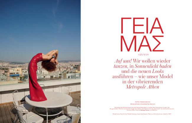Panos Davios - Madame Magazine
